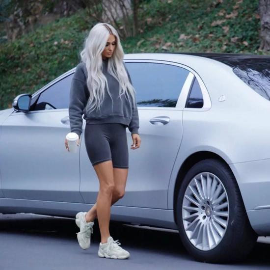 Paris Hilton for Yeezy 2018 AD