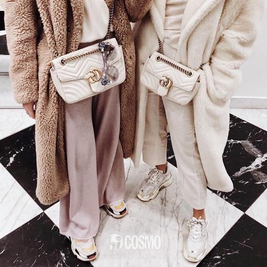 包袋来自Gucci
