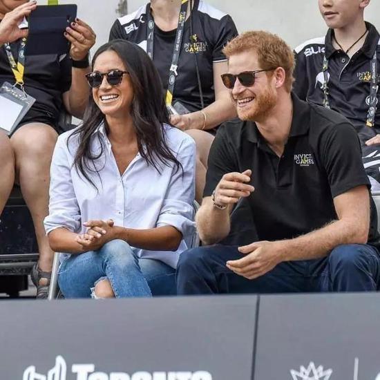 哈里王子Henry Charles Albert David和妻子Meghan Markle图片来源© Getty Images