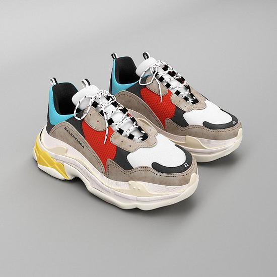巴黎世家Triple S老爹鞋