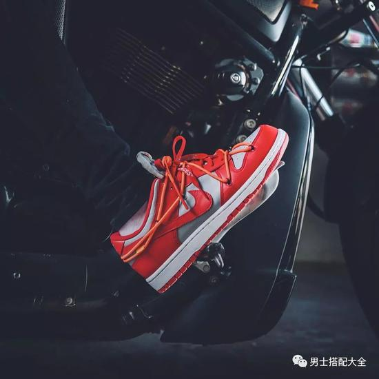 "Off-White™ x Nike SB Dunk Low""University Red"""