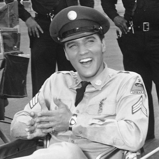 猫王 Elvis Presley 佩戴HAMILTON腕表