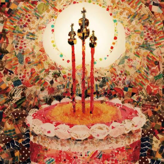 △小提琴版生日蛋糕