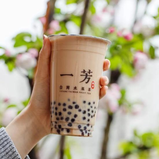 🍵粉圓豆乳紅茶-一芳