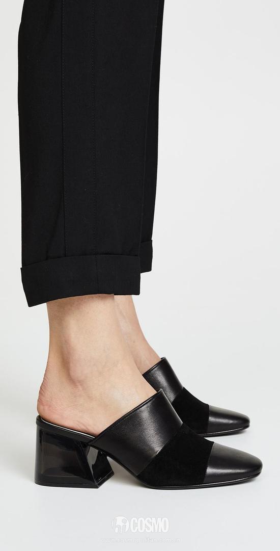 可优雅可帅气 原来小黑鞋才是百搭尖货