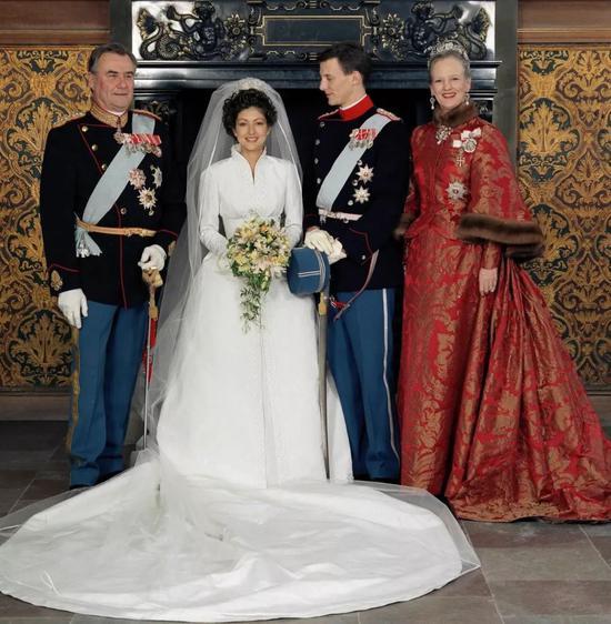 两人爱情故事一度成为欧洲王室爱情童话