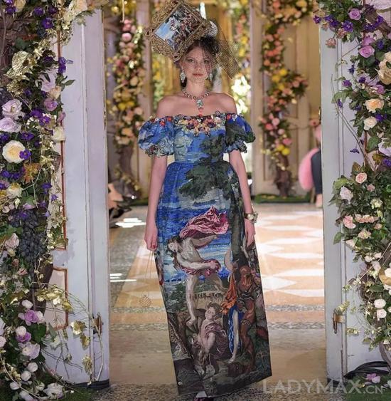 Dolce&Gabbana于12月8日在米兰发布Alta Moda高级定制系列