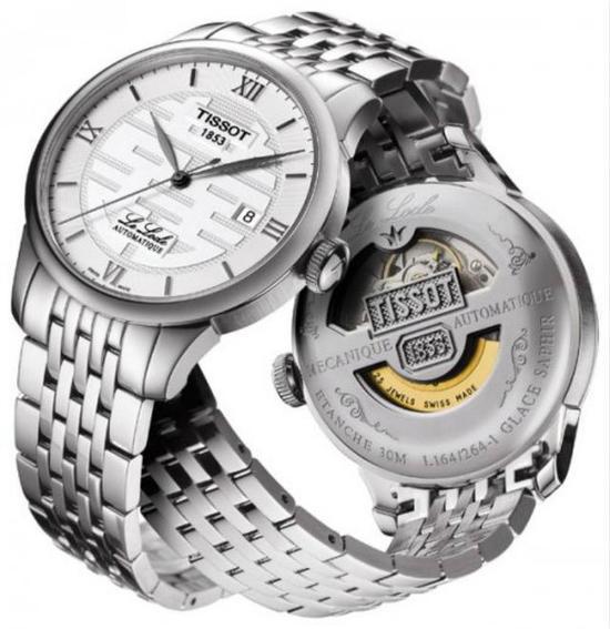 Tissot天梭Le Locle力洛克系列男士自动机械腕表