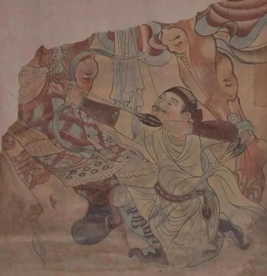 叶浅予临敦煌壁画 中心美术学院藏