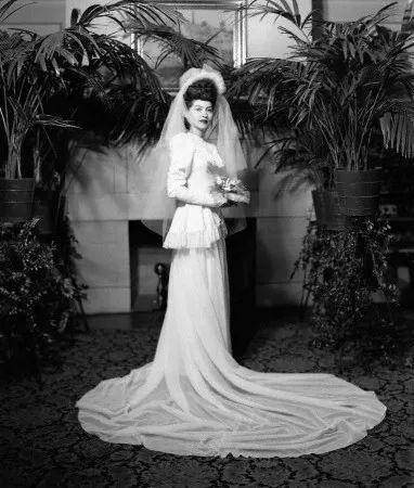 △1940s的婚纱