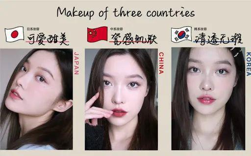 从适合的妆容来看 你是哪国人?