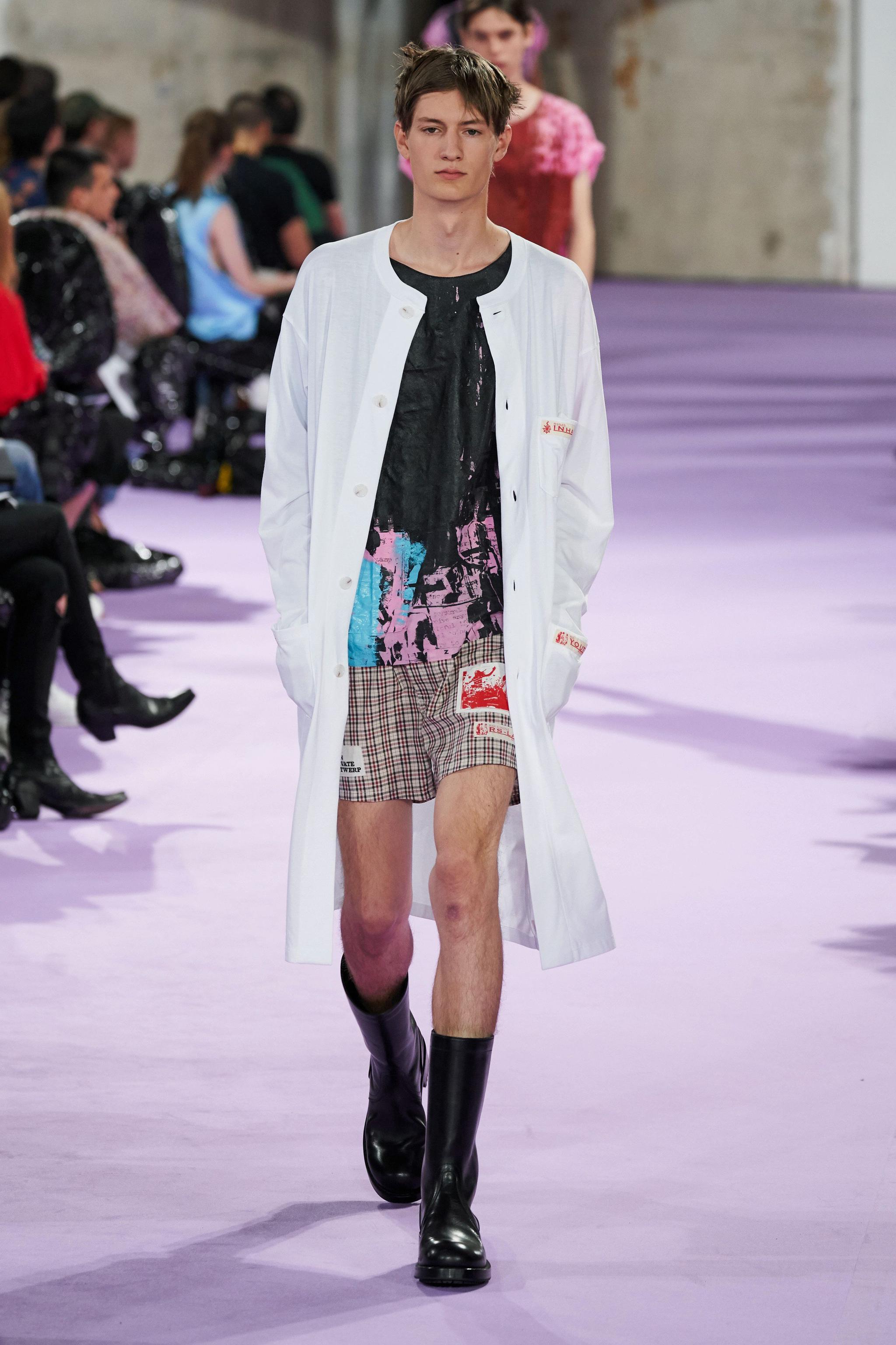 Raf Simons個人品牌2020春夏男裝系列