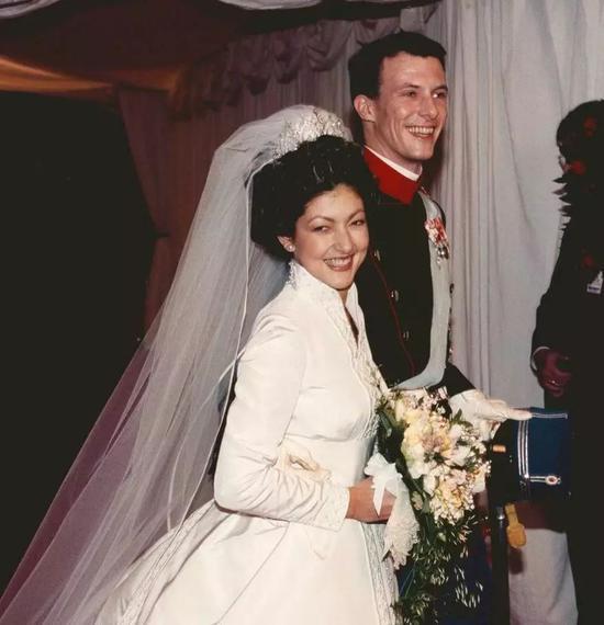 丹麦王子 Joachim 与第一任妻子文雅丽