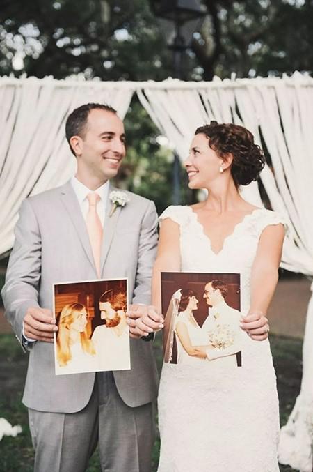 """3、在婚礼上加上""""父母的痕迹"""""""