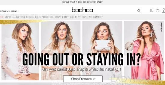 Boohoo等超快时尚让消费者看到可以用更低的价格享受到同等或相似的产品