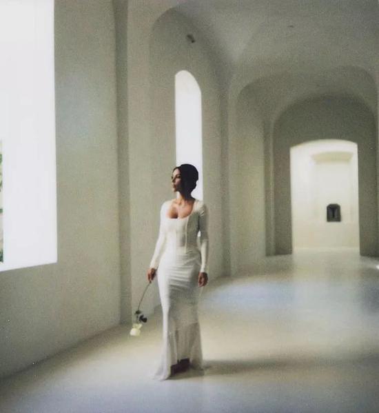 ▲ 传说中的修道院走廊;