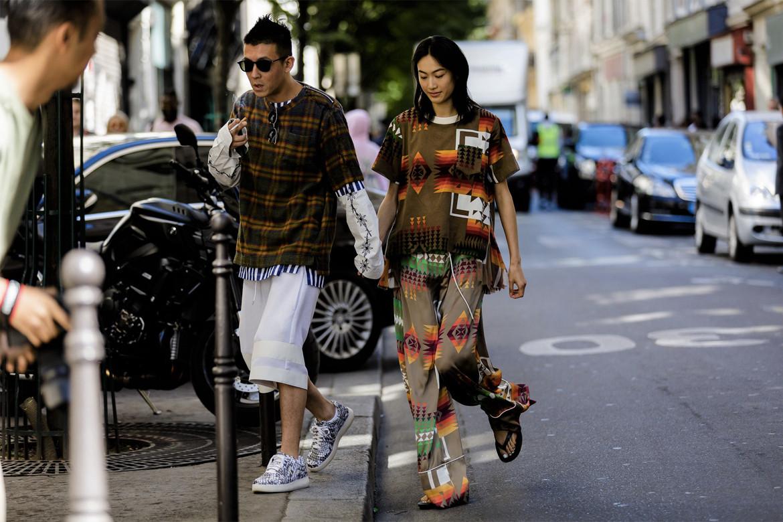 2019 春夏巴黎时装周街拍