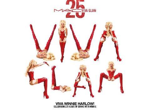 (M·A·C魅可与超模Winnie Harlow合作拍摄大片,致敬1994年 VIVA GLAM I系列)