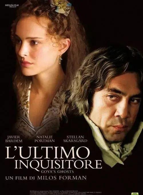 电影《戈雅之灵》(2006)讲述西班牙著名画家哥亚为拯救美丽少女伊内斯的故事