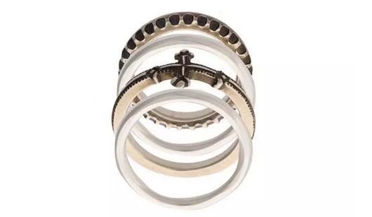 WERKSTATT:MüNCHEN浮雕叠跟戒指¥5,173