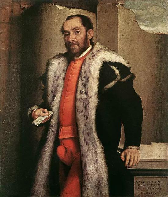 ▲ 1565 年,意大利画家 Giovanni Battista Moroni 创作的画像