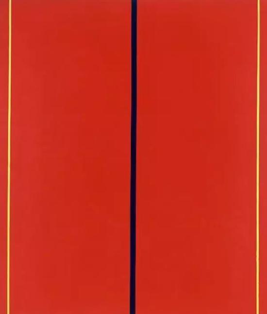 纽曼《是谁在害怕红黄蓝II》