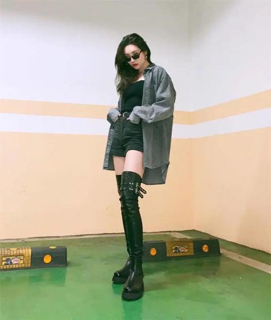 宣美、泫雅、孙怡、乔欣中韩腿精大battle你pick谁