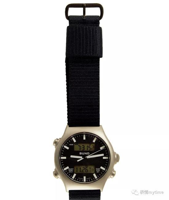 型号为728-06的Boccia腕表能同时指示两个时区并可任意显示另一种附加功能
