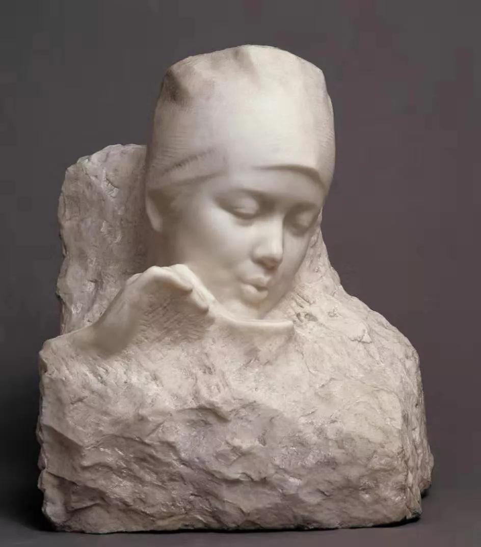 日日夜夜 / 张得蒂 / 30 × 40 × 50 cm / 大理石 / 1984