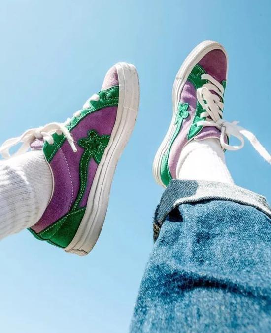 当鞋子或者太花哨时