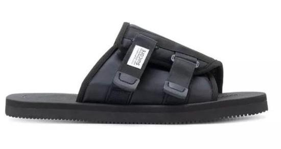 Suicoke饰扣细节拖鞋 ¥1,721