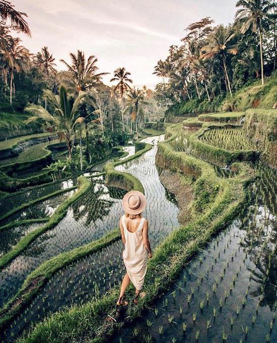 巴厘岛 图片来源自Pinterest@Nuraan