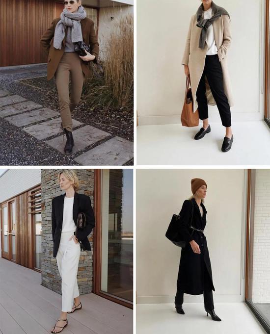 有些女人穿衣好看的秘诀不过是比你多了2345件羊毛衫