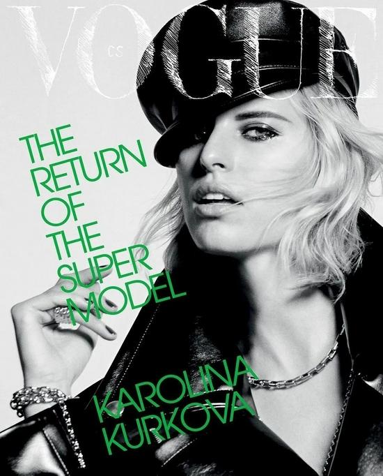 Karolina Kurkova 登娘家版《VOGUE》封面!
