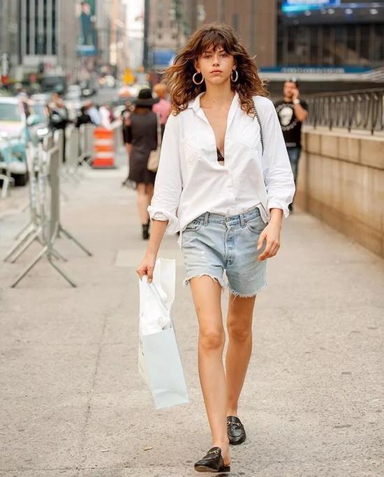 今年的牛仔短裤 我只想要女星同款