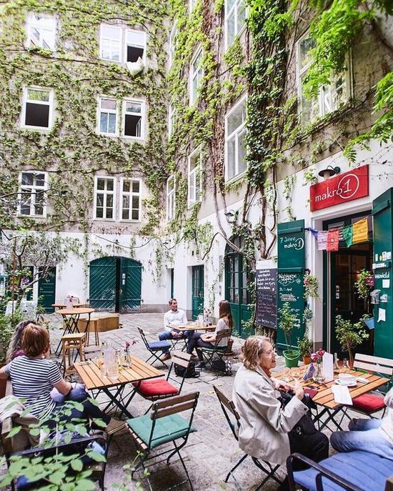维也纳美食 图片来源自PinterestBarbara Mayer