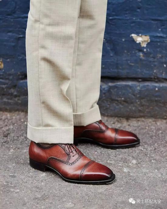 你应该拥有一双牛津鞋了