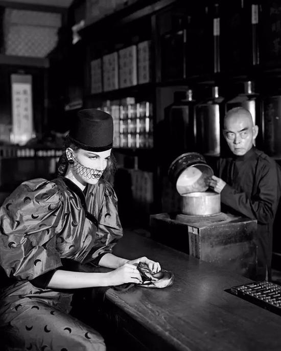 摄影师,Gian Paolo Barbieri,赫本