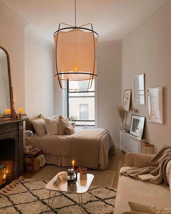 纽约摄影师的法系小公寓 无拘无束的随性浪漫