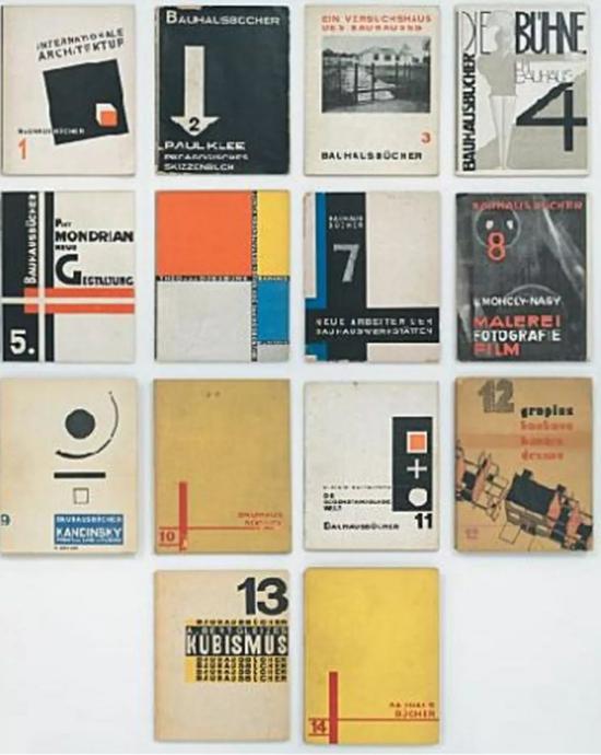 ▲包豪斯的设计理论丛书