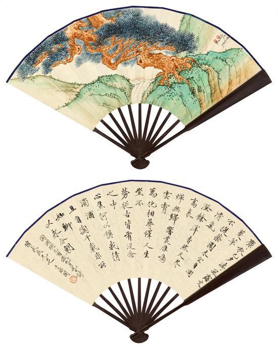 中国书画丨文人名片:乐志居藏扇