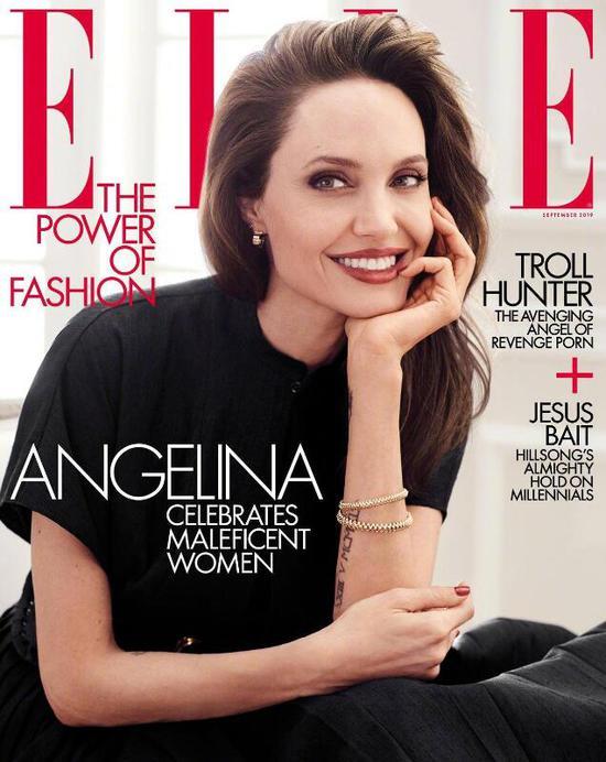 安吉丽娜朱莉   招牌微笑依旧惊艳,44岁重回颜值巅峰