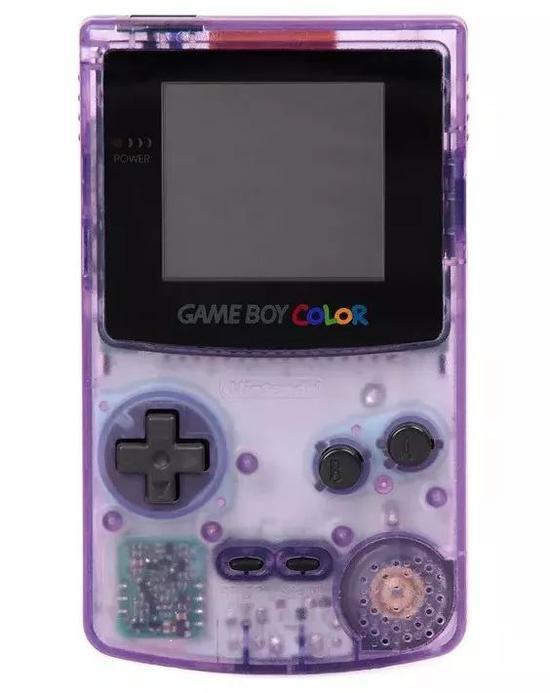 △任天堂Gameboy Color透明版