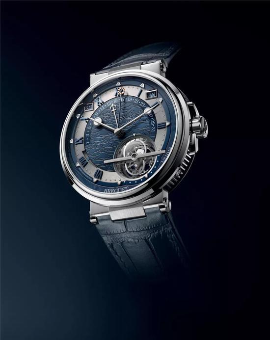 宝玑Marine航海系列5887时间等式腕表