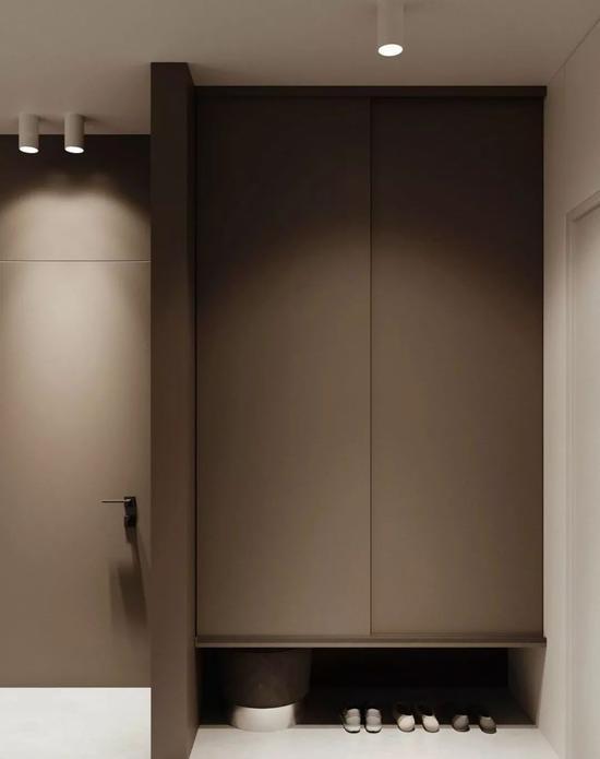 黑白色调的客厅满足了现代简约风格