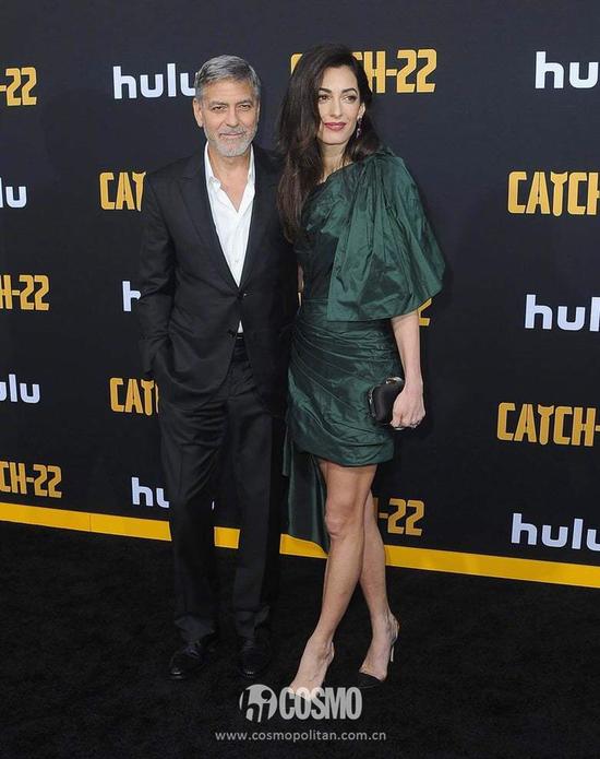 George Clooney、Amal Clooney