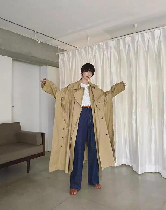 小个子逆袭范本 35岁日本辣妈身高158穿成170