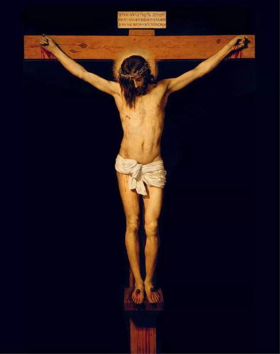 《十字架上的耶稣》委拉斯凯兹