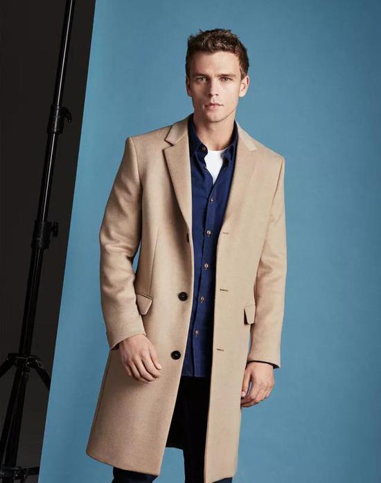 大衣+西装