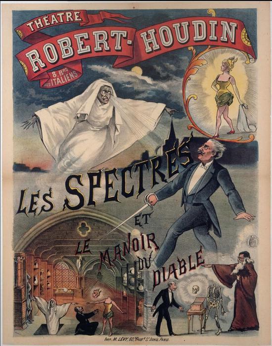 《Le Manoir du Diable (魔鬼庄园)》海报(图片来源:Wikipédia)